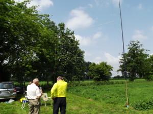 Die Antenne von DL1ARH