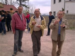 Klaus, Dieter und Rainer