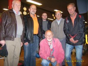 Mit Benny ( OZ1LTZ ) im Radiomuseum