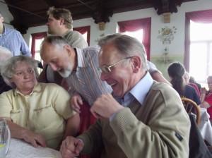 Peter DL2AWA und Rainer DL1ARH sind offensichtlich zufrieden