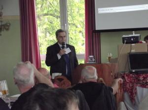 Roland, DK4RC, eröffnet das Treffen
