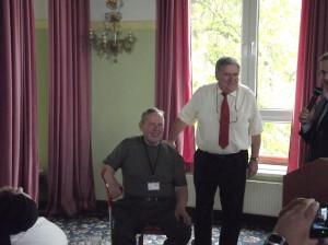 Ehrung von Gerhard, DL2AVK, und Manfred, DL1ATA