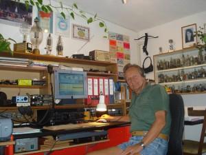 Klaus an seiner Station