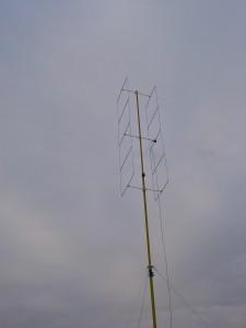 Die Antenne in ihrer gesamten Schönheit