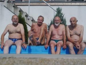 Die Rentnergang beim Contest